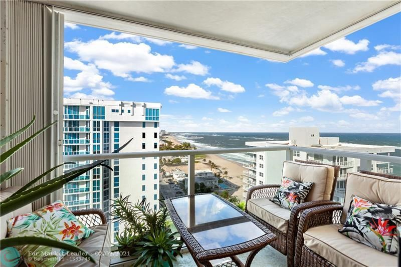 1000 S Ocean Blvd #17L, Pompano Beach, FL 33062 - #: F10259692