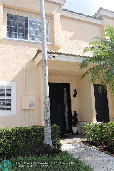 Photo of 4723 NW 57th Pl #4723, Coconut Creek, FL 33073 (MLS # F10284692)