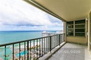 Photo of 4280 Galt Ocean Dr #4B, Fort Lauderdale, FL 33308 (MLS # F10234693)