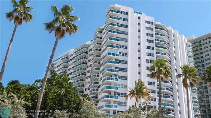 Photo of 3430 Galt Ocean Drive #109, Fort Lauderdale, FL 33308 (MLS # F10267695)