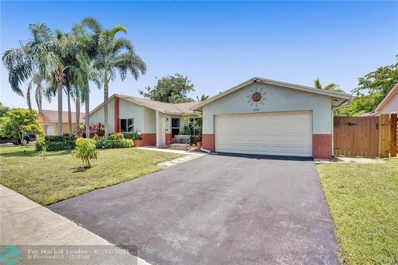 Photo of 5340 NW 29th Ct, Margate, FL 33063 (MLS # F10293697)
