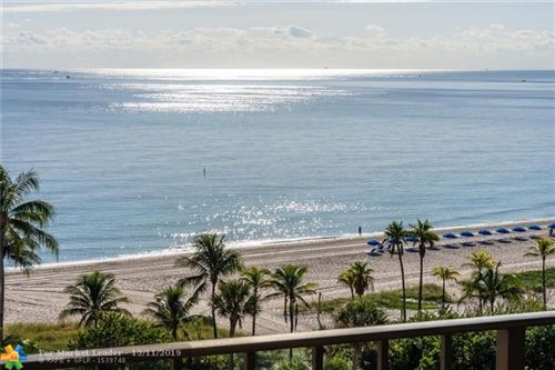 Photo of 4900 N Ocean Blvd #1009, Lauderdale By The Sea, FL 33308 (MLS # F10206701)