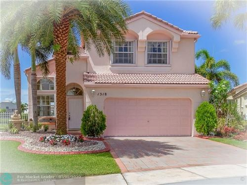 Photo of 1318 NW 157th Ave, Pembroke Pines, FL 33028 (MLS # F10235701)
