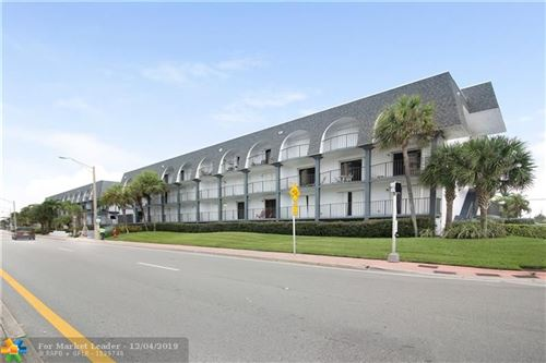 Photo for 4013 N Ocean Dr #212, Lauderdale By The Sea, FL 33308 (MLS # F10203704)