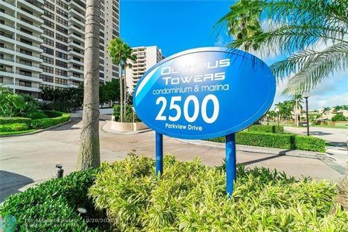 Photo of 2500 Parkview Dr #2117, Hallandale Beach, FL 33009 (MLS # F10305704)