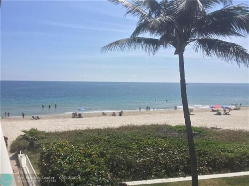 Tiny photo for 1480 S Ocean Blvd #321, Lauderdale By The Sea, FL 33062 (MLS # F10222705)