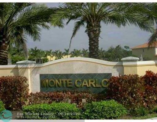 Foto de inmueble con direccion 5572 Monte Carlo Ln Margate FL 33068 con MLS F10245705
