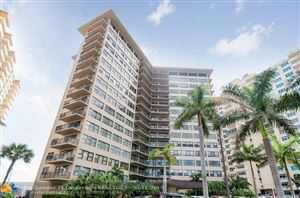 Photo of 3800 Galt Ocean Dr #314, Fort Lauderdale, FL 33308 (MLS # F10112706)