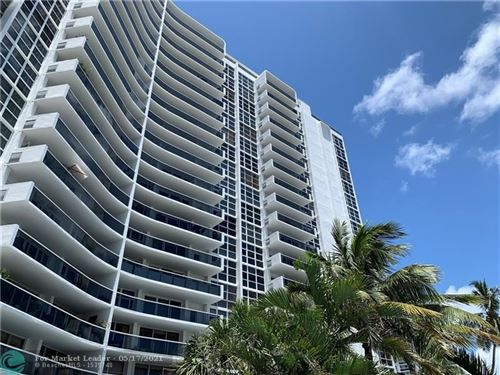 Photo of 2841 N Ocean Blvd #607, Fort Lauderdale, FL 33308 (MLS # F10284707)