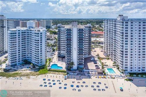 Photo of 3700 Galt Ocean Dr #1003, Fort Lauderdale, FL 33308 (MLS # F10305707)