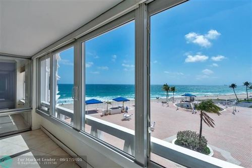 Photo of 3900 N Ocean Dr #3F, Lauderdale By The Sea, FL 33308 (MLS # F10276708)