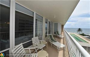 Photo of 4020 Galt Ocean Dr #306, Fort Lauderdale, FL 33308 (MLS # F10138710)