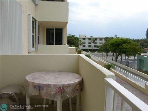 Photo of 3015 N Ocean Blvd #3 J, Fort Lauderdale, FL 33308 (MLS # F10227710)