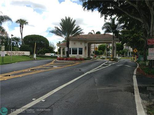 Photo of 1000 Saint Charles Pl #304, Pembroke Pines, FL 33026 (MLS # F10257712)
