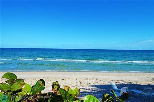Photo of 1153 Hillsboro Mile #5, Hillsboro Beach, FL 33062 (MLS # F10259716)