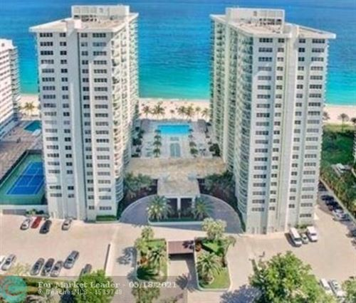 Photo of 3400 Galt Ocean Dr #305S, Fort Lauderdale, FL 33308 (MLS # F10282718)