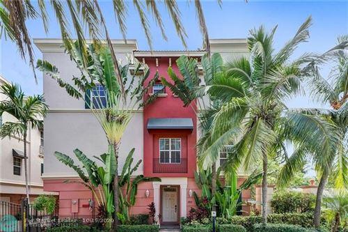 Photo of 1033 NE 17th Way #101, Fort Lauderdale, FL 33304 (MLS # F10254720)