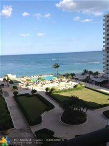 Photo of 4280 Galt Ocean Dr #7D, Fort Lauderdale, FL 33308 (MLS # F10169722)