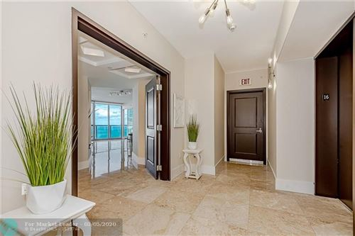 Photo of 3101 S Ocean Dr #1605, Hollywood, FL 33019 (MLS # F10219724)