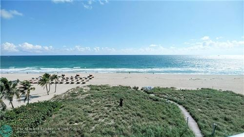 Photo of 1200 Holiday Drive #401, Fort Lauderdale, FL 33316 (MLS # F10200725)