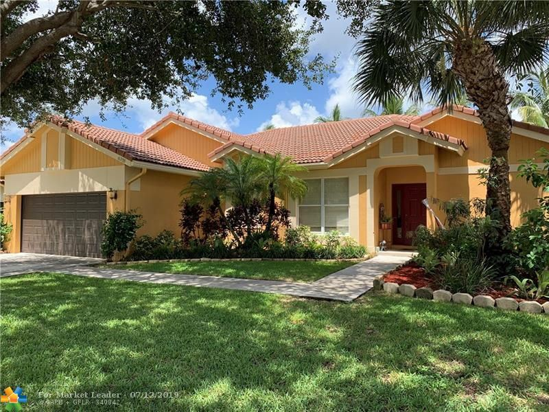 Photo for 6333 NW 42nd Ter, Coconut Creek, FL 33073 (MLS # F10183728)