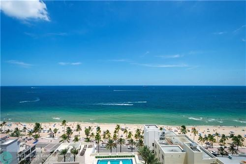 Photo of 101 S FT LAUDERDALE BCH BLVD #1803, Fort Lauderdale, FL 33316 (MLS # F10191729)