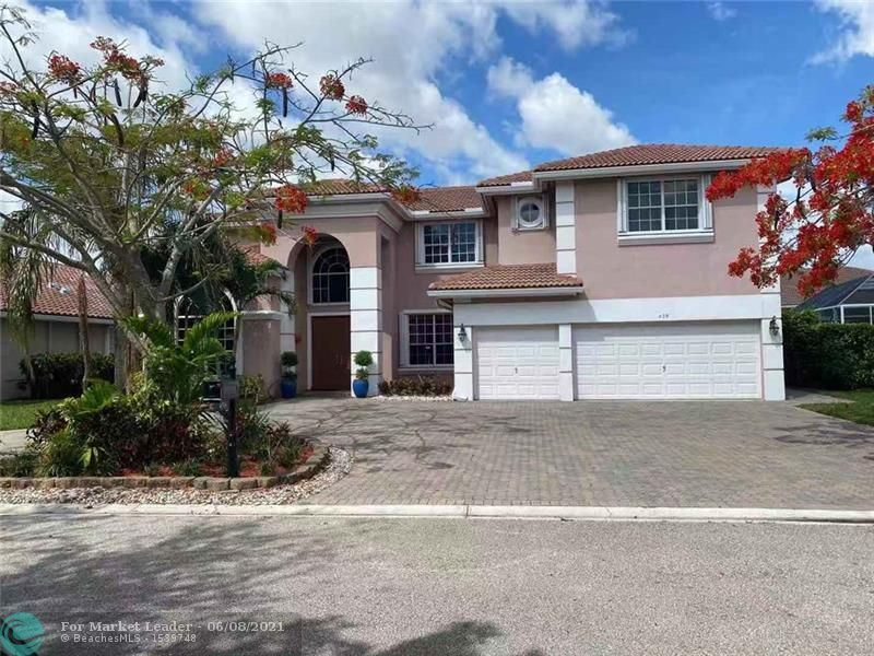 458 NW 118TH TER, Coral Springs, FL 33071 - #: F10285734
