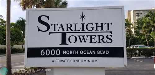 Photo of 6000 N Ocean Blvd #11E, Lauderdale By The Sea, FL 33308 (MLS # F10220735)