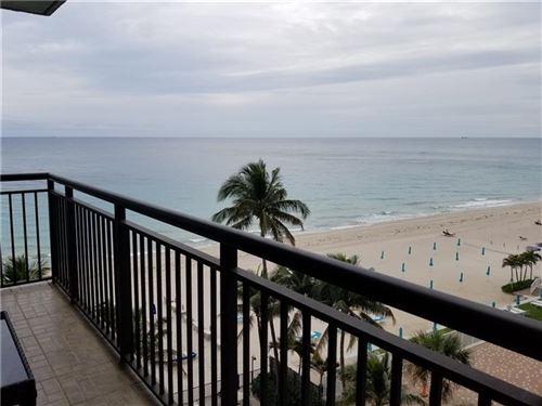 Photo of 3800 Galt Ocean Dr #707, Fort Lauderdale, FL 33308 (MLS # F10277736)