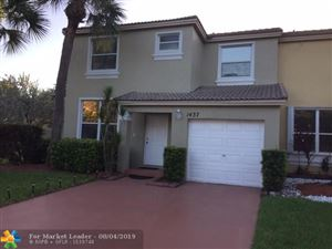 Photo of 1437 NW 154th Ln, Pembroke Pines, FL 33028 (MLS # F10187738)