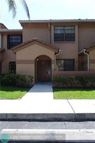 Photo of 10600 NW 14th St, Plantation, FL 33322 (MLS # F10222741)