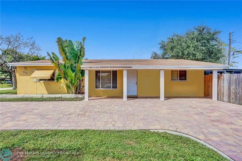 Photo of 519 NW 47th Ct, Oakland Park, FL 33309 (MLS # F10303741)
