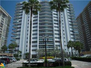 Photo of 3430 Galt Ocean Dr #1605, Fort Lauderdale, FL 33308 (MLS # F10140742)