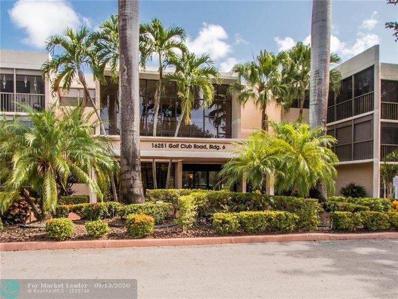 16251 Golf Club Rd #101, Weston, FL 33326 - #: F10248743