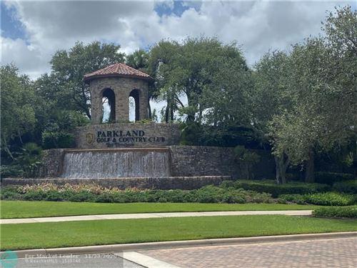 Photo of 9594 Ginger Ct, Parkland, FL 33076 (MLS # F10255744)