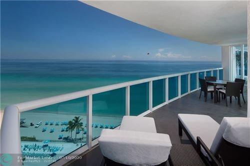 Photo of 2711 S Ocean Dr #1502, Hollywood, FL 33019 (MLS # F10211746)