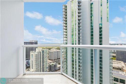 Photo of 333 Las Olas Way #PH 3505, Fort Lauderdale, FL 33301 (MLS # F10267746)