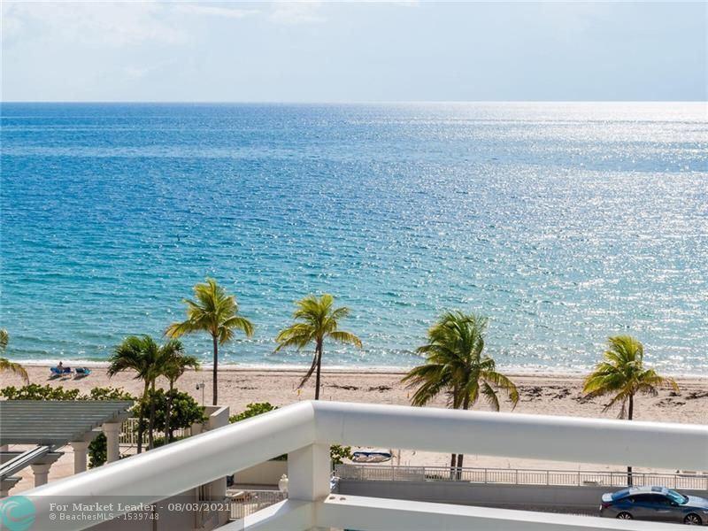 Photo of 3430 Galt Ocean Drive #702, Fort Lauderdale, FL 33308 (MLS # F10294746)
