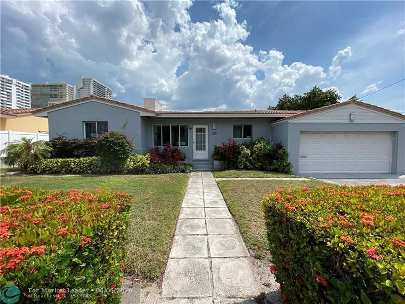 Photo for 228 CODRINGTON DR, Lauderdale By The Sea, FL 33308 (MLS # F10226748)