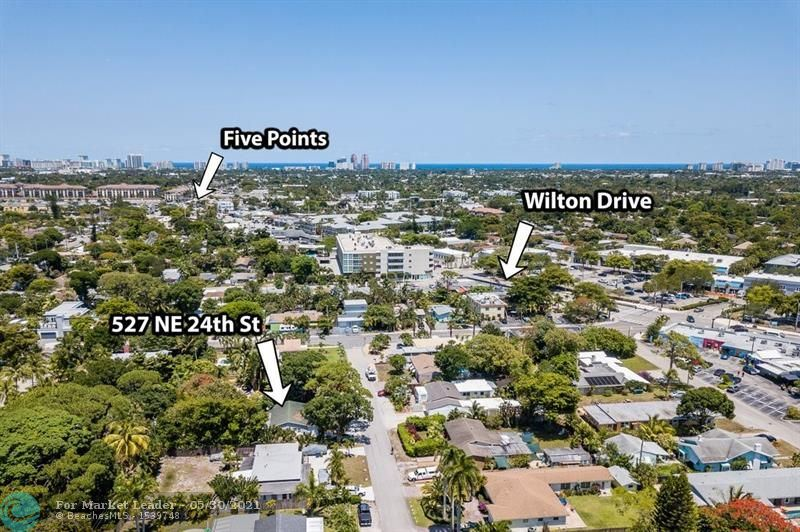 527 NE 24th St, Wilton Manors, FL 33305 - #: F10286752