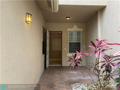 Photo of 3528 Parkside Dr #3528, Davie, FL 33328 (MLS # F10284753)