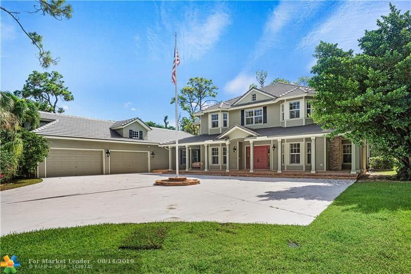 Photo for 6502 NW 63rd Way, Parkland, FL 33067 (MLS # F10185755)