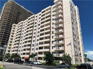 Photo of 200 S Birch Rd #505, Fort Lauderdale, FL 33316 (MLS # F10190763)