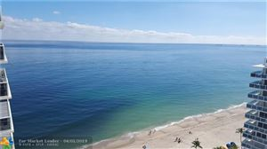 Photo of 3500 GALT OCEAN DR #1802, Fort Lauderdale, FL 33308 (MLS # F10167766)