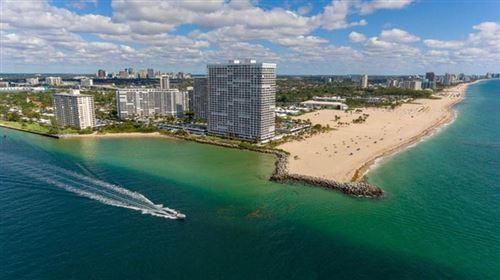 Photo of 2100 S Ocean Dr #12E, Fort Lauderdale, FL 33316 (MLS # F10272766)