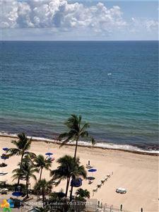Photo of 3750 Galt Ocean Dr #1108, Fort Lauderdale, FL 33308 (MLS # F10167767)