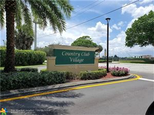 Foto de inmueble con direccion 16325 GOLF CLUB RD #112 Weston FL 33326 con MLS F10187767