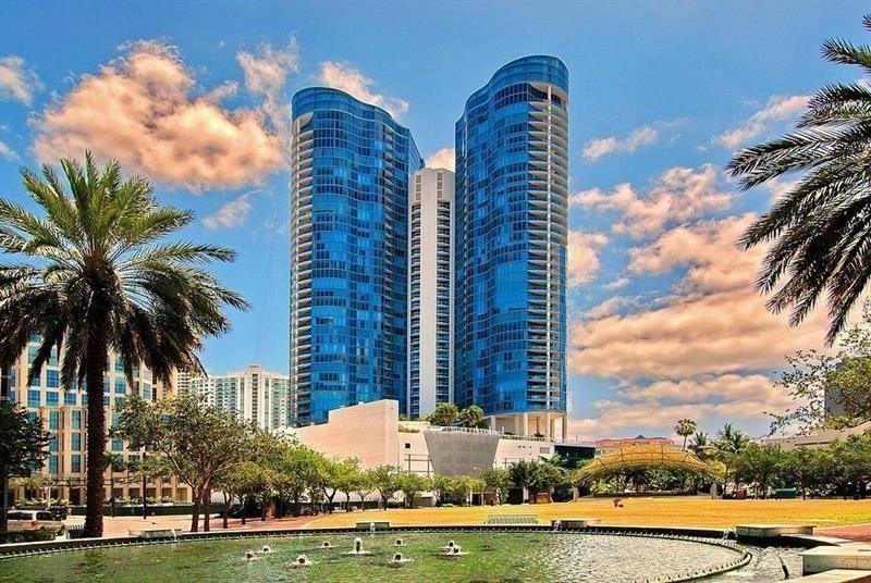 Photo of 333 Las Olas Way #2909, Fort Lauderdale, FL 33301 (MLS # F10273767)