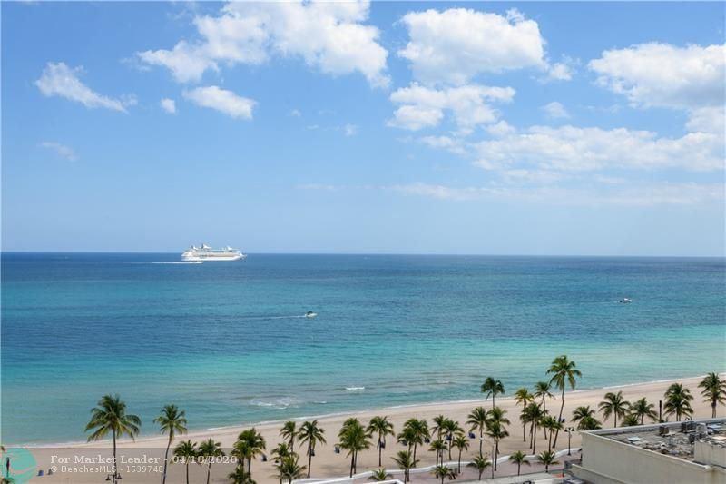 Photo of 101 S Fort Lauderdale Beach Blvd #1407, Fort Lauderdale, FL 33316 (MLS # F10225772)