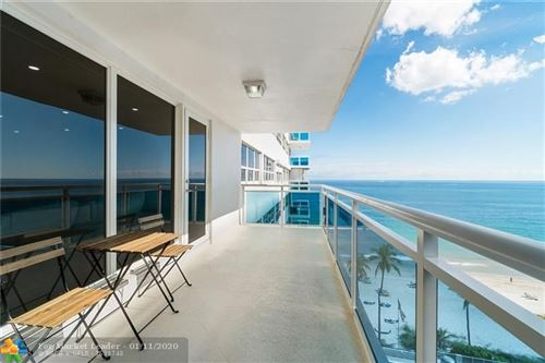 Photo of 3430 Galt Ocean Dr #1008, Fort Lauderdale, FL 33308 (MLS # F10208774)